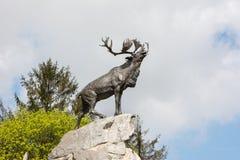 Newfoundland War Memorial France stock photo