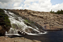 Newfoundland Waterfall Royalty Free Stock Images