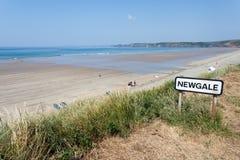 Newgale beach Stock Image