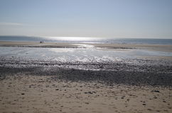 Newgale, Pembrokeshire. Newgale Beach, Pembrokeshire. Taken April 2014 Royalty Free Stock Photography