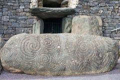 Newgrange Fotografia Stock Libera da Diritti