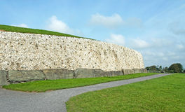 Newgrange in the Boyne Valley Royalty Free Stock Image