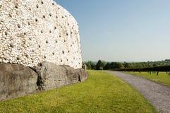 Newgrange Co. Meath - Irland arkivfoton