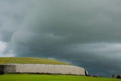 Newgrange, Donore Co. Meath, Ireland. Newgrange, Donore Co. Meath, Republic of Ireland royalty free stock images