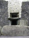 Newgrange entrance Royalty Free Stock Images