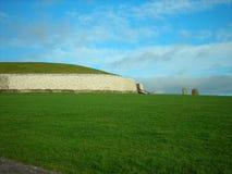 Newgrange, Ierland Stock Afbeeldingen