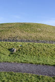 Newgrange in Ireland Royalty Free Stock Photography