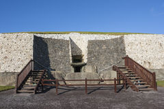Newgrange in Ireland Stock Photography
