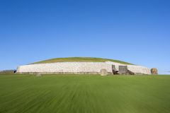 Newgrange in Ireland Royalty Free Stock Photos