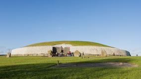 Newgrange in Ireland. This building is UNESCO World heritage site Stock Image