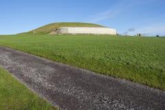 Newgrange in Irlanda Immagini Stock Libere da Diritti