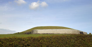 Newgrange Stock Photo