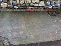 Newgrange-Monument stockbilder