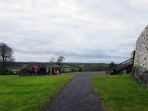 Newgrange-Monument lizenzfreies stockbild