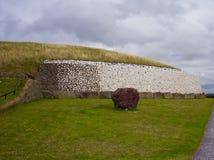 Newgrange stockfoto