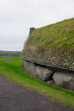 Newgrange side view. Side view of the ancient site in Co Meath Stock Image