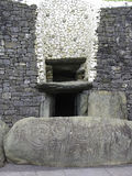 Newgrangeingang Royalty-vrije Stock Afbeeldingen