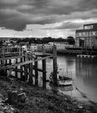 Newhaven harbor Stock Photo