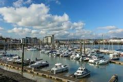 Newhaven marina Zdjęcie Royalty Free