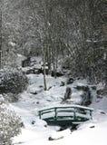 Newland fällt in Schnee (vert) Lizenzfreie Stockfotos