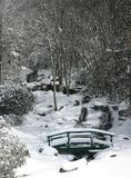 Newland Falls In Snow (vert) Royalty Free Stock Photos