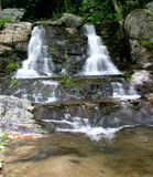 Newland tombe les cascades jumelles Photo libre de droits