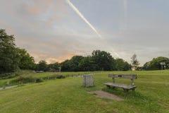 Newlands Corner, Surrey Hills AONB Stock Image