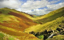 Newlands Hause, Lake district Royalty Free Stock Images