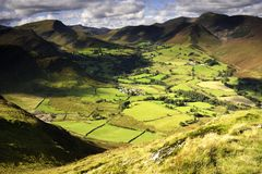 Newlands Valley Royalty Free Stock Photos
