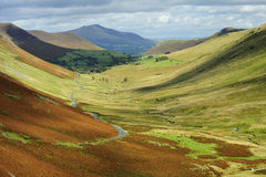 Newlands valley, Lake district Stock Photo