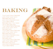 Newly baked bread Stock Photography