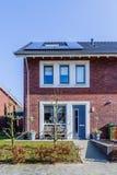 Modern houses  Netherlands Stock Image