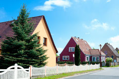 Newly build residential Stock Photos
