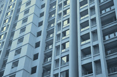 Newly built apartment building Stock Photos