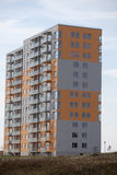 Newly built block of flats. New flats - newly built houses Stock Image