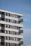 Newly built block of flats. New flats - newly built houses Stock Images