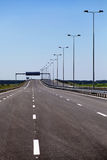 Newly built highway Stock Image
