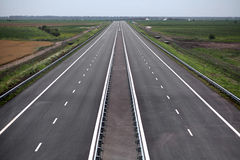 Newly built highway Royalty Free Stock Image