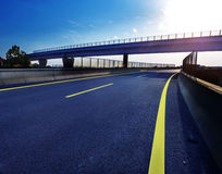 Newly built highway Royalty Free Stock Images