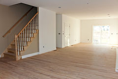Newly Built House Interior Stock Photos