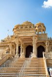 Temple in London England. Newly built Indian temple in London England Royalty Free Stock Image