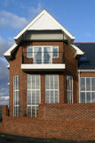 Newly bult home. Recently built home showing end detail Royalty Free Stock Images