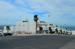 Newly Constructed Spanish houses Stock Images