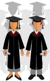 Newly graduates Royalty Free Stock Photos