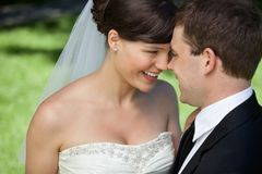 Newly Married Couple Stock Photos