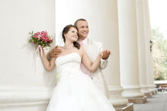 Free Newly Married Couple Royalty Free Stock Photos - 26519378