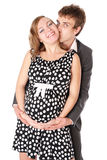 Newly married couple waiting for a child Stock Photography