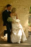 Newly married pair Royalty Free Stock Photos
