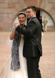 Newly married pair Royalty Free Stock Image