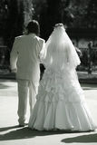 Newly married pair Royalty Free Stock Photography